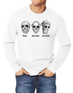 Socrates Old Funny Philosophy Long-sleeve T-Shirt