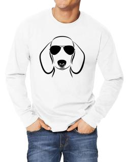 Dachshund Sunglasses Long-sleeve T-Shirt