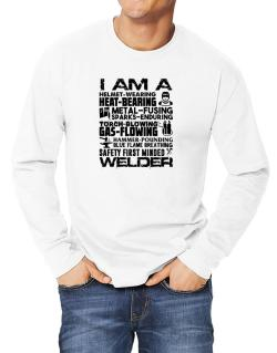Polo Manga Larga de I am a welder