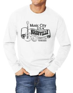 Music city Usa Nashville Tennessee Long-sleeve T-Shirt