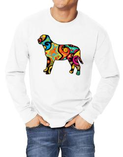 Psychedelic Broholmer Long-sleeve T-Shirt