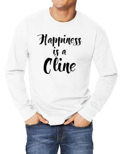 Happiness is a Cline Long-sleeve T-Shirt