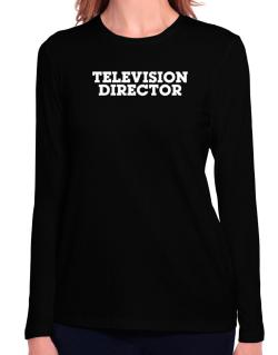 Television Director Long Sleeve T-Shirt-Womens