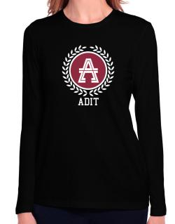 Adit - Laurel Long Sleeve T-Shirt-Womens