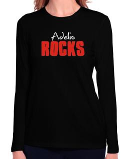 Adelio Rocks Long Sleeve T-Shirt-Womens