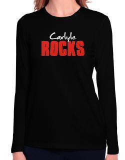 Carlyle Rocks Long Sleeve T-Shirt-Womens