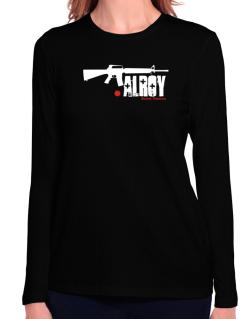 Alroy Street Veteran Long Sleeve T-Shirt-Womens