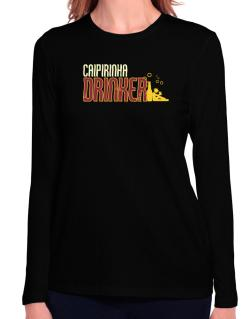 Caipirinha Drinker Long Sleeve T-Shirt-Womens
