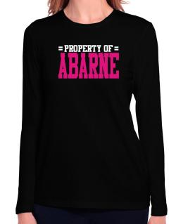 Property Of Abarne Long Sleeve T-Shirt-Womens