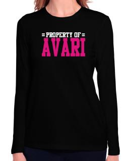 Property Of Avari Long Sleeve T-Shirt-Womens