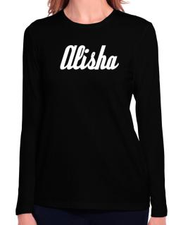 Alisha Long Sleeve T-Shirt-Womens