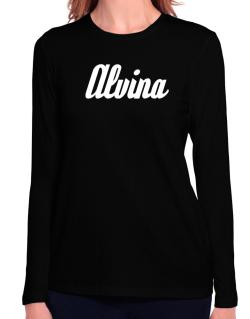 Alvina Long Sleeve T-Shirt-Womens