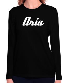 Aria Long Sleeve T-Shirt-Womens