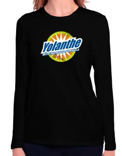 Yolanthe - With Improved Formula Long Sleeve T-Shirt-Womens