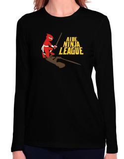 Aide Ninja League Long Sleeve T-Shirt-Womens