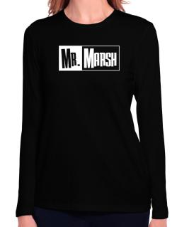Mr. Marsh Long Sleeve T-Shirt-Womens