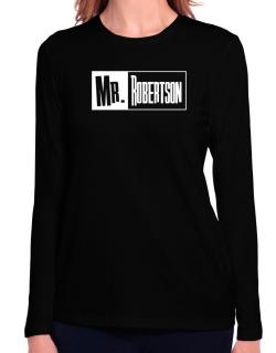 Mr. Robertson Long Sleeve T-Shirt-Womens
