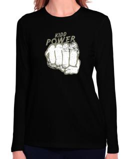 Kidd Power Long Sleeve T-Shirt-Womens