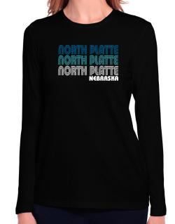 North Platte State Long Sleeve T-Shirt-Womens