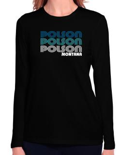 Polson State Long Sleeve T-Shirt-Womens