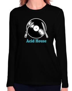 Acid House - Lp Long Sleeve T-Shirt-Womens