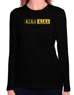 Negative Alcala Long Sleeve T-Shirt-Womens