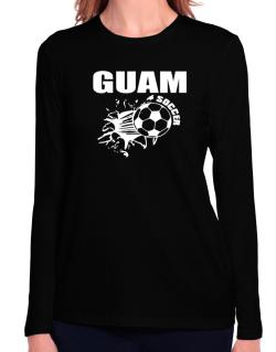 All Soccer Guam Long Sleeve T-Shirt-Womens