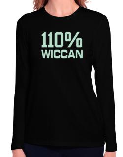 110% Wiccan Long Sleeve T-Shirt-Womens