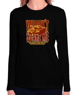 Dont Scare Me Long Sleeve T-Shirt-Womens