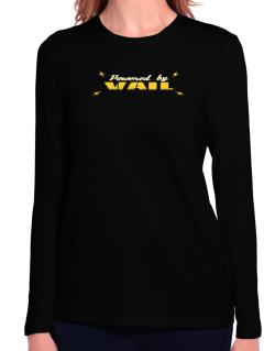 Powered By Vail Long Sleeve T-Shirt-Womens