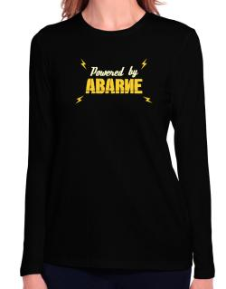 Powered By Abarne Long Sleeve T-Shirt-Womens