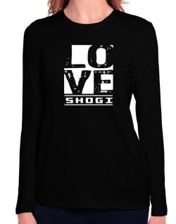 Love Shogi Long Sleeve T-Shirt-Womens