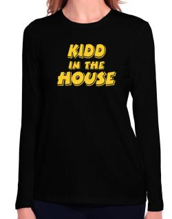 Kidd In The House Long Sleeve T-Shirt-Womens