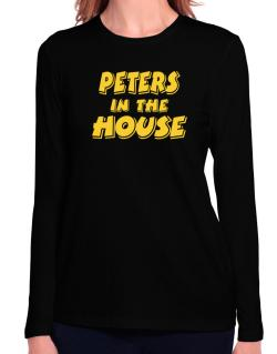 Peters In The House Long Sleeve T-Shirt-Womens