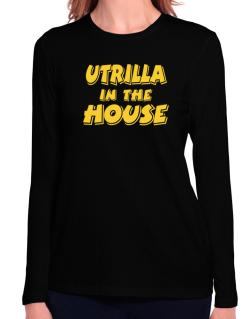 Utrilla In The House Long Sleeve T-Shirt-Womens
