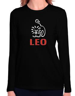 Leo - Cartoon Long Sleeve T-Shirt-Womens