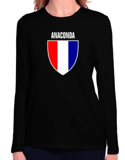 Anaconda Escudo Usa Long Sleeve T-Shirt-Womens