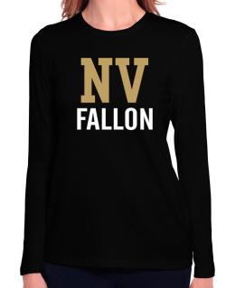 Fallon - Postal usa Long Sleeve T-Shirt-Womens