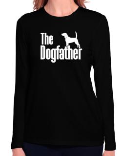 The dogfather Beagle Long Sleeve T-Shirt-Womens