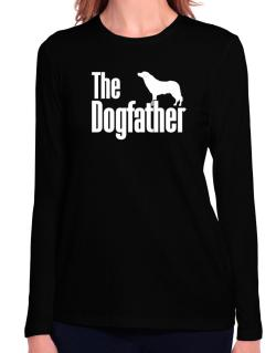 The dogfather Aidi Long Sleeve T-Shirt-Womens