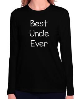 Best Auncle ever Long Sleeve T-Shirt-Womens