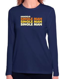 Amadeus Single Man Long Sleeve T-Shirt-Womens