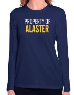 Property Of Alaster Long Sleeve T-Shirt-Womens