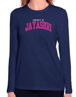 Property Of Jayashri Long Sleeve T-Shirt-Womens