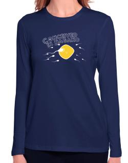 Conceived In Nagano Long Sleeve T-Shirt-Womens