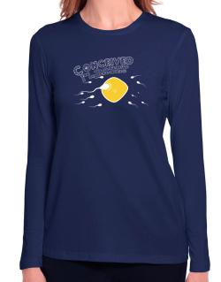 Conceived In Qarku I Korces Long Sleeve T-Shirt-Womens
