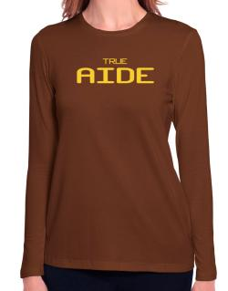True Aide Long Sleeve T-Shirt-Womens