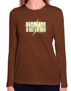 Hardcore The Temple Of The Presence Long Sleeve T-Shirt-Womens