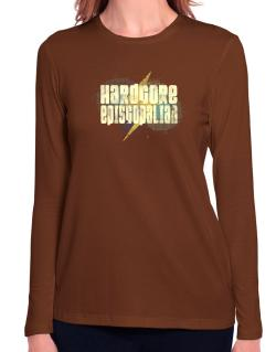 Hardcore Episcopalian Long Sleeve T-Shirt-Womens