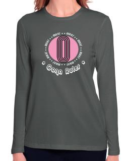 Oona Rules Long Sleeve T-Shirt-Womens